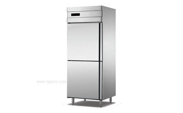 厨房两门立式不锈钢门冷柜,安德利冷柜,环保节能,质量保障