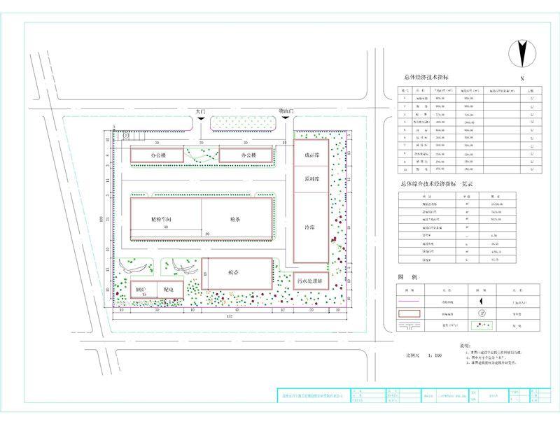 厂区总平面图绘制