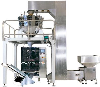 全自动薯片称重包装机