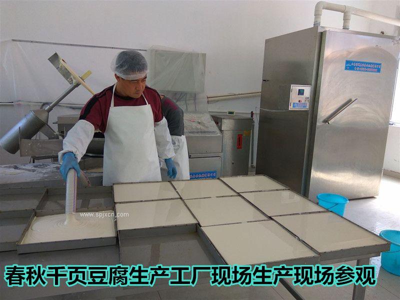 千叶豆腐是怎么做出来的都需要哪些生产设备