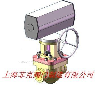 上海菲克阀门  核二级气动球阀
