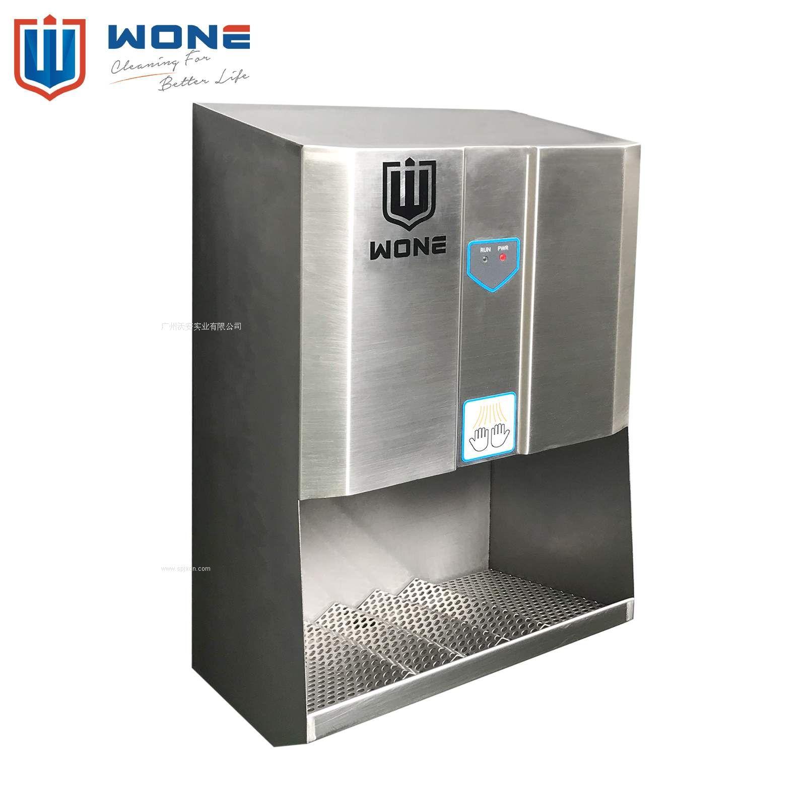 不銹鋼高速干手機 干手器 噴射式烘手機 食品廠衛生設計