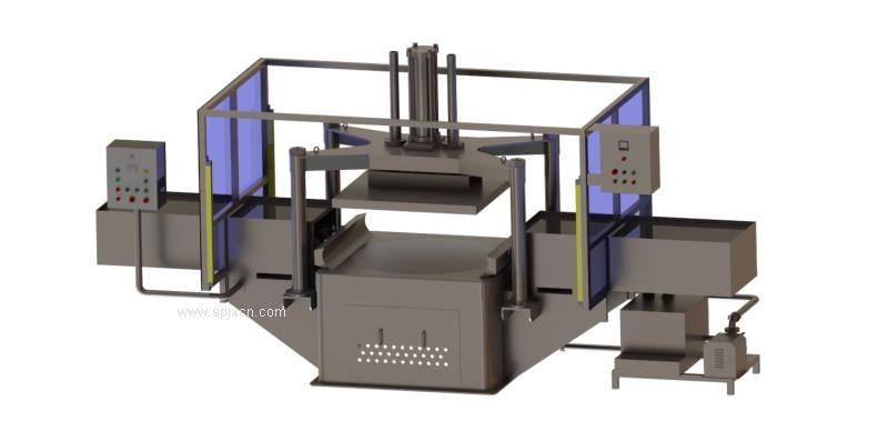 【厂家直销】大型加工设备压面机德盈食品机械