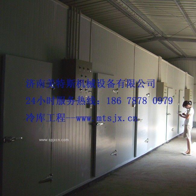 海鮮市場專用冷庫設計安裝,冷凍庫保鮮庫定做