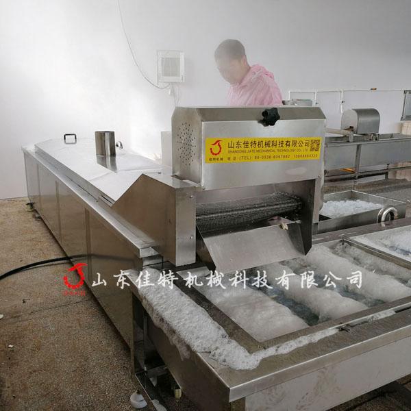 廣東魷魚漂燙機 漂燙冷卻生產線