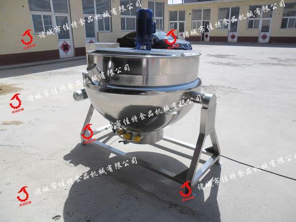 電加熱導熱油夾層鍋 立式攪拌夾層鍋