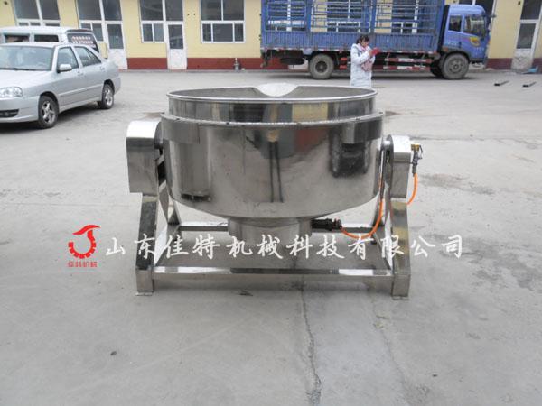 牛肉蒸煮夹层锅 餐厅专用燃气夹层锅