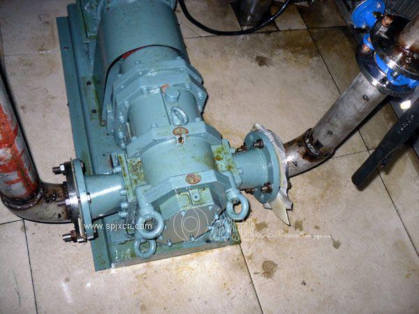 高粘度凸輪轉子泵-食品輸送泵 旋轉活塞泵