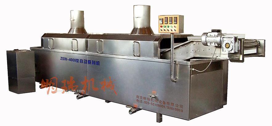 自动煮制机-肉类食品隧道式连续煮制