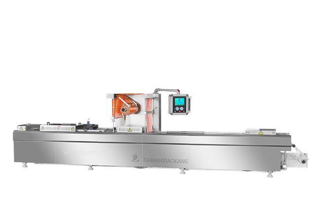 真空包裝機廠家 直銷小康牌DLZ-420D全自動連續拉伸真空包裝機