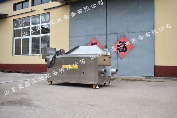 汉堡肉饼油炸机,自动控温燃气油炸机