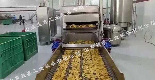 大型薯片油炸流水线批发价格销售