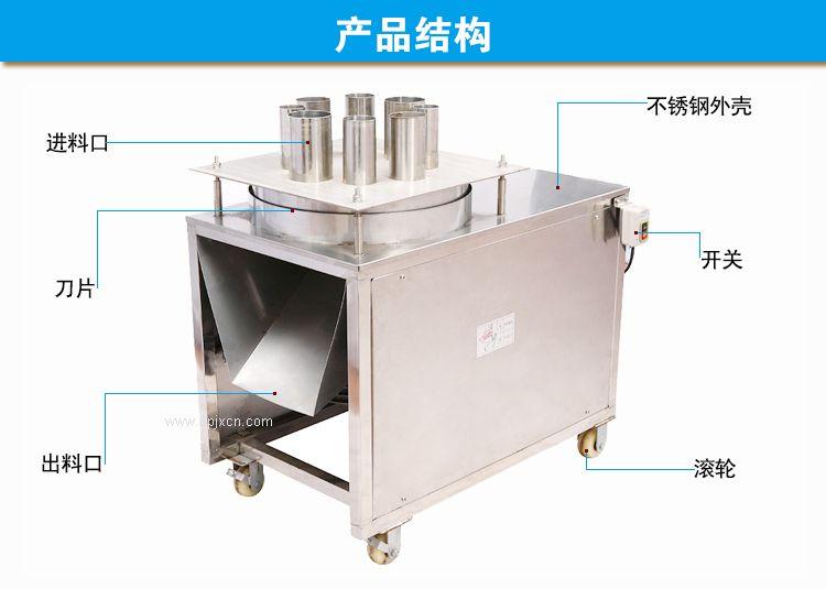 广州不锈钢高效果蔬切片机厂家供货