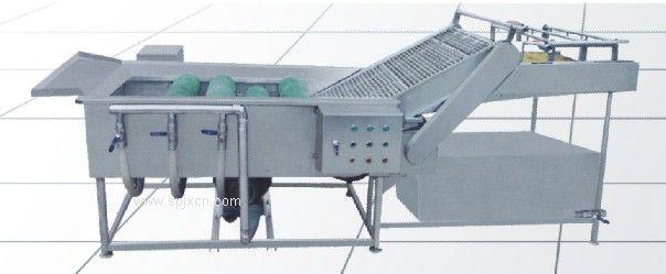 气浴卫星毛刷清洗机(果蔬清洗机)