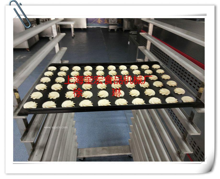 奎宏生产休闲食品机械 珍妮挤出 电脑曲奇蛋糕一体机 KH-400