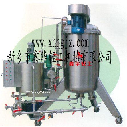 水平圆盘硅藻土酱油过滤机专业厂家选择鑫华轻工