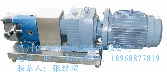 ZB3A系列齿轮定速比型转子泵